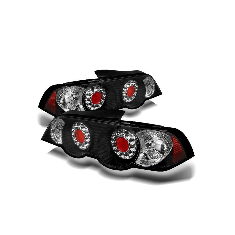 Spyder Auto ® - Black LED Tail Lights (5000361)