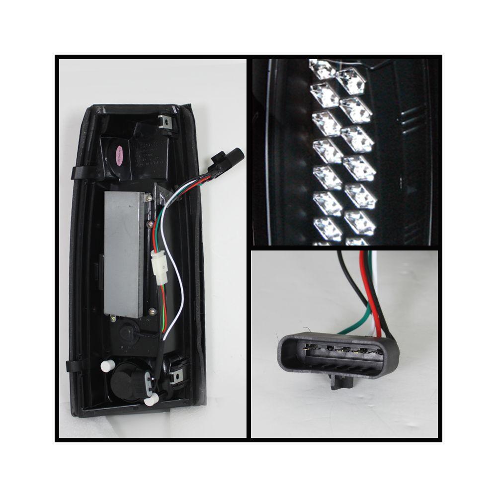Spyder Auto ® - Black LED Tail Lights (5001351)