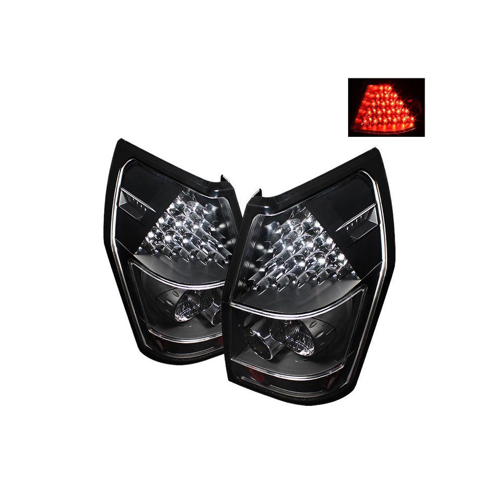 Spyder Auto ® - Black LED Tail Lights (5002365)