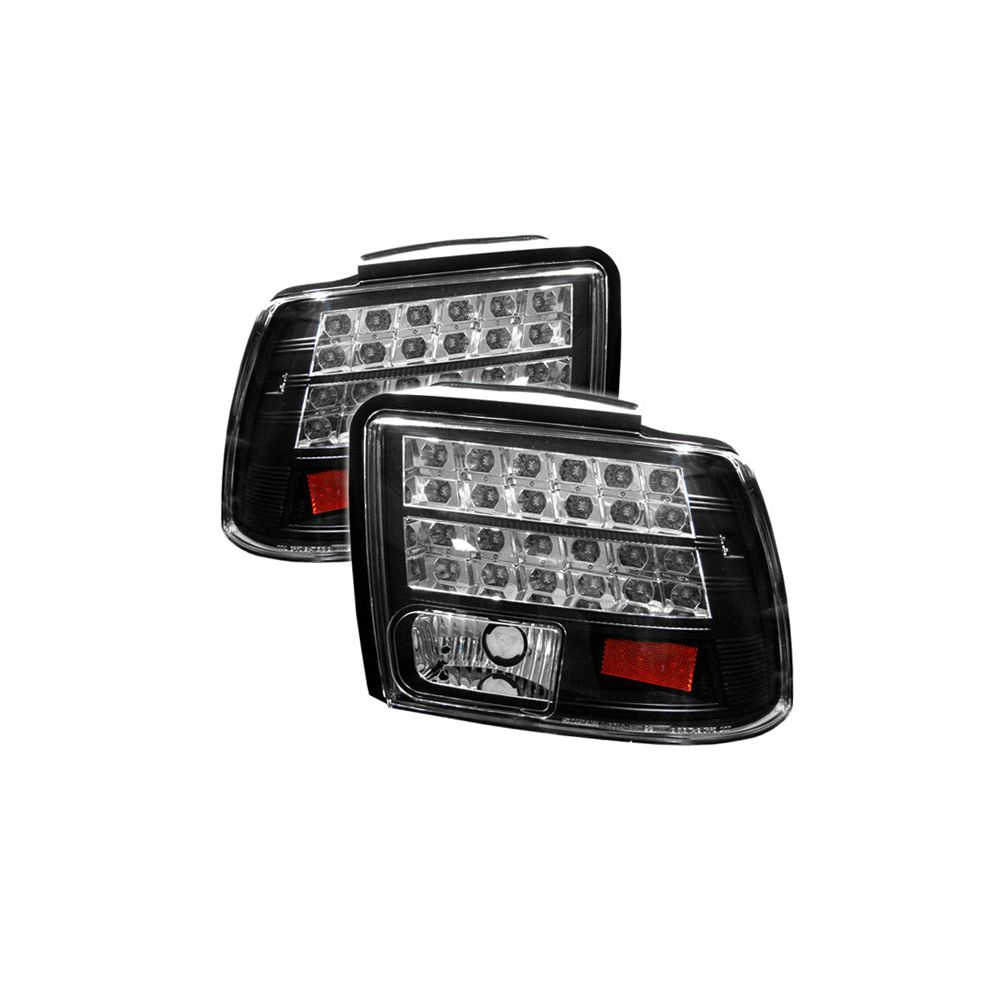 Spyder Auto ® - Black LED Tail Lights (5003690)
