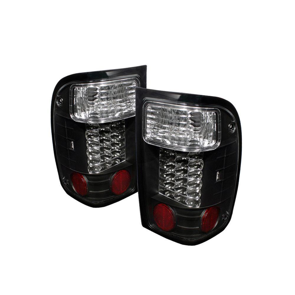 Spyder Auto ® - Black LED Tail Lights (5003751)