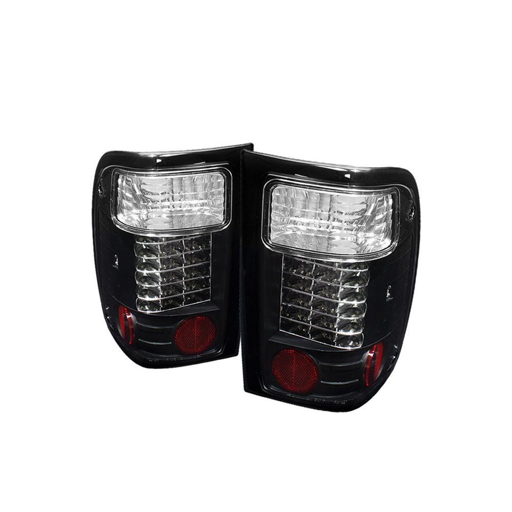 Spyder Auto ® - Black LED Tail Lights (5003836)