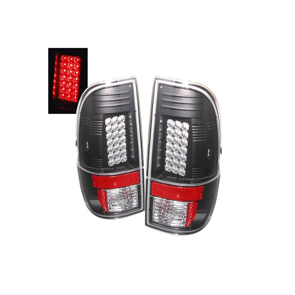 Spyder Auto ® - Black LED Tail Lights (5003898)