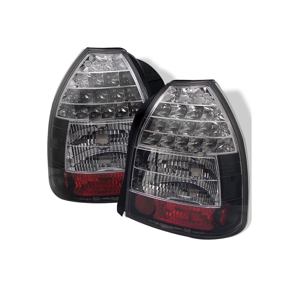 Spyder Auto ® - Black LED Tail Lights (5004925)