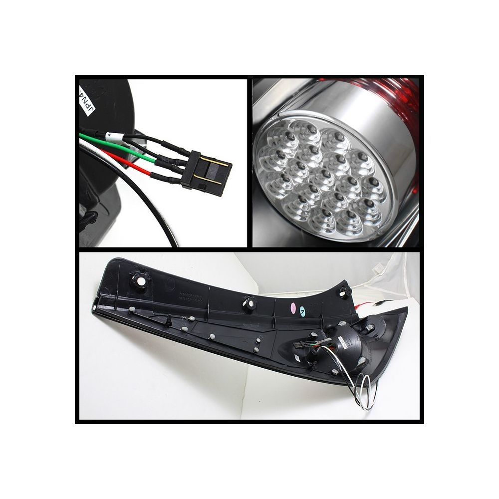 Spyder Auto ® - Black LED Tail Lights (5006714)