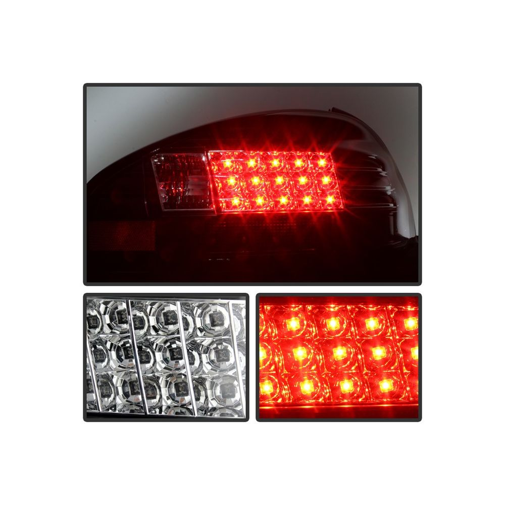 Spyder Auto ® - Black LED Tail Lights (5007148)