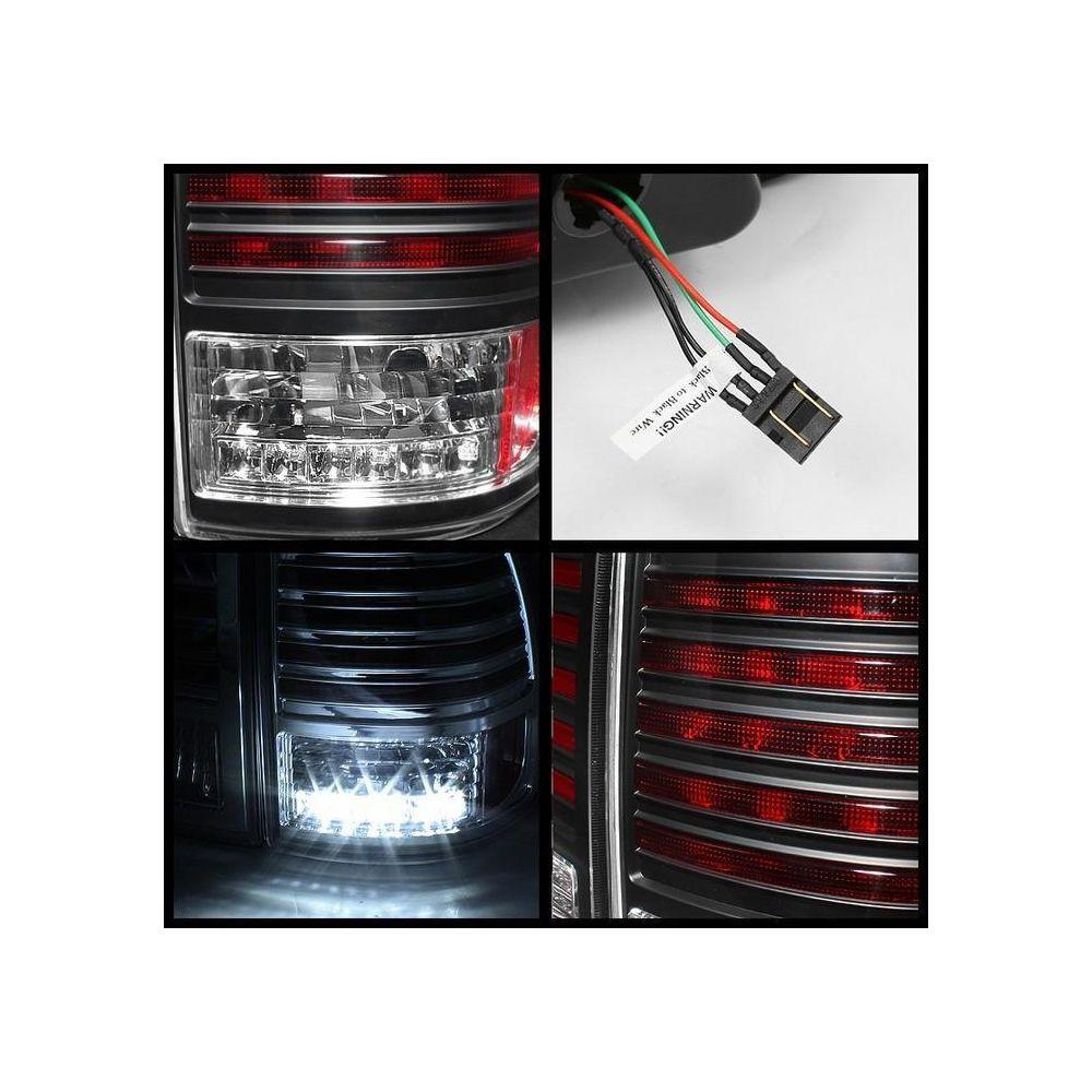 Spyder Auto ® - Black LED Tail Lights (5007537)