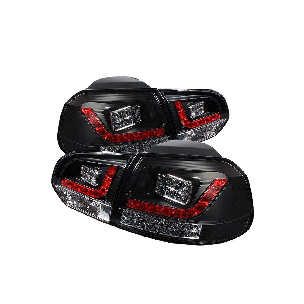 Spyder Auto ® - Black LED Tail Lights (5008176)