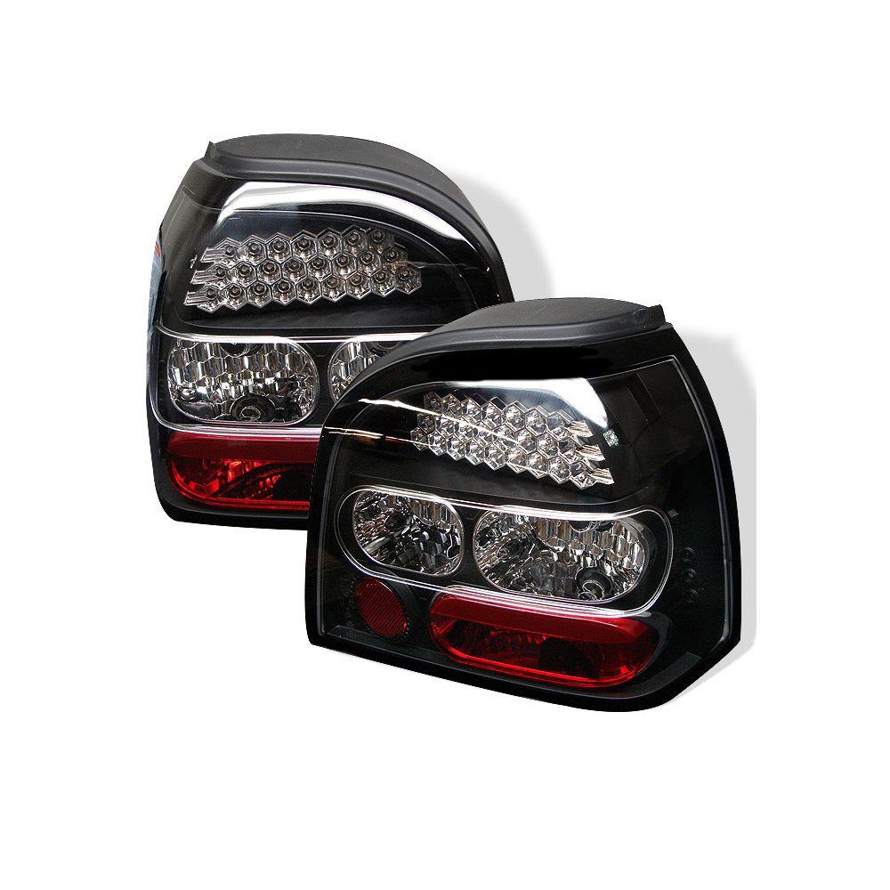 Spyder Auto ® - Black LED Tail Lights (5008220)