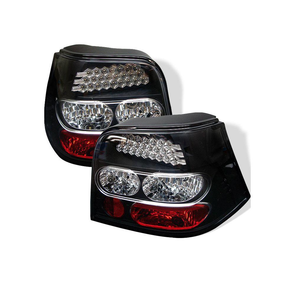 Spyder Auto ® - Black LED Tail Lights  (5008305)