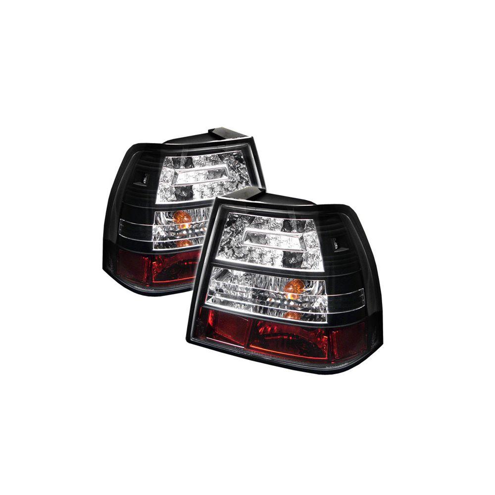 Spyder Auto ® - Black LED Tail Lights (5008411)