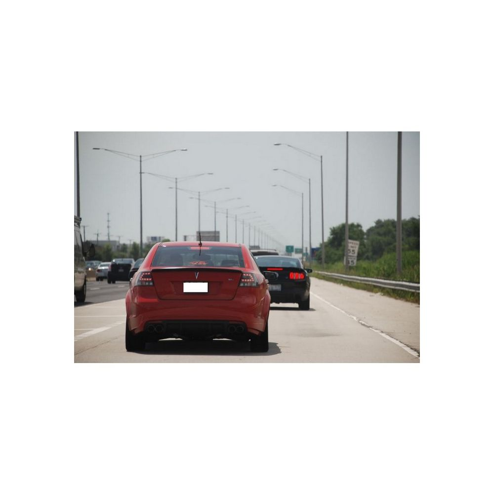 Spyder Auto ® - Black LED Tail Lights (5008565)