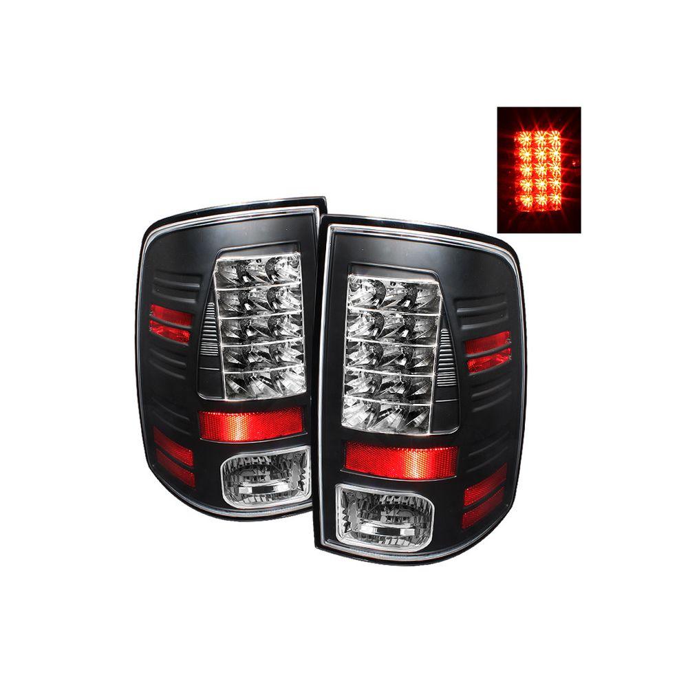 Spyder Auto ® - Black LED Tail Lights (5017543)