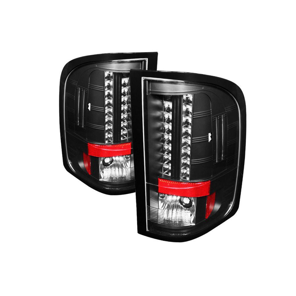 Spyder Auto ® - Black LED Tail Lights (5029539)