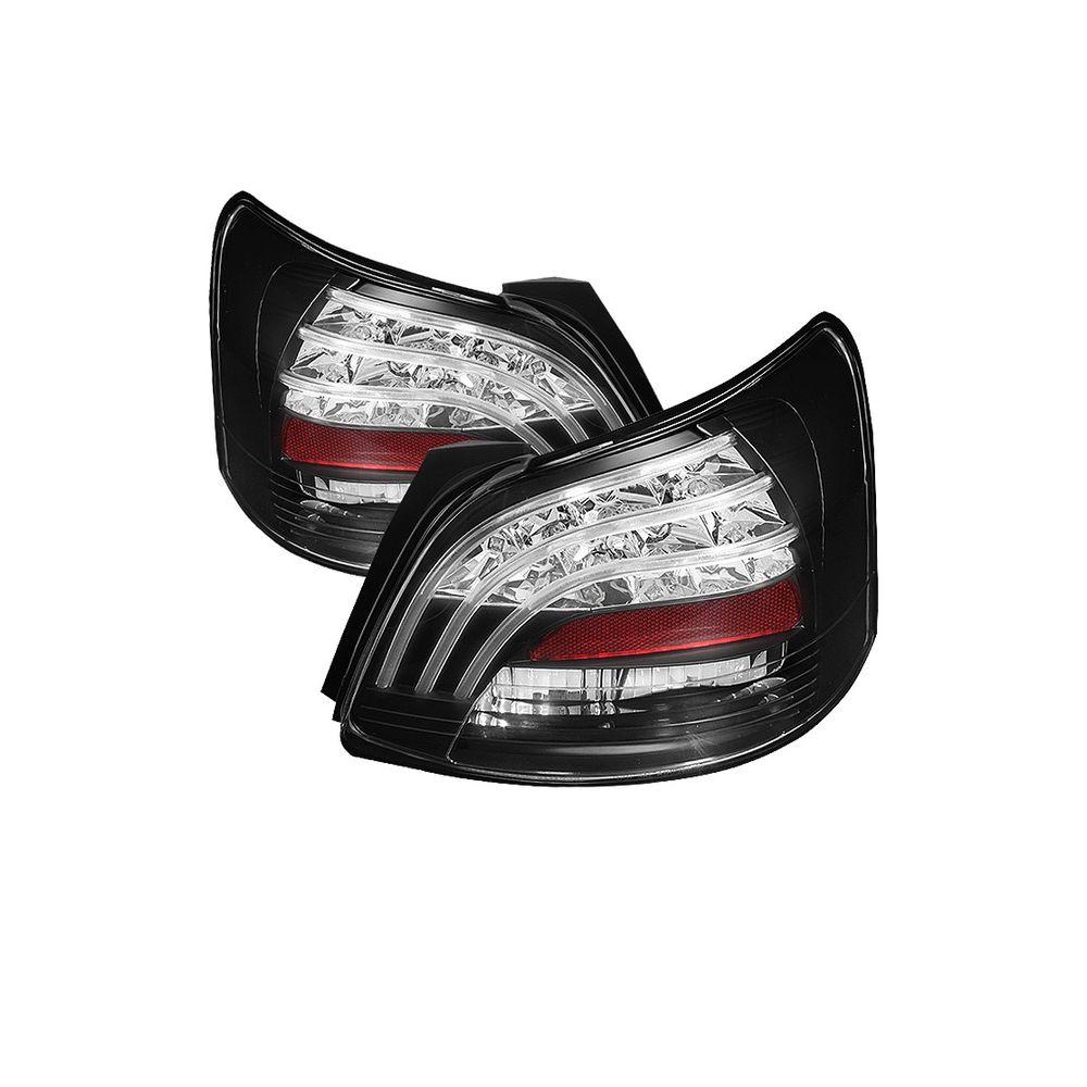 Spyder Auto ® - Black LED Tail Lights (5037640)