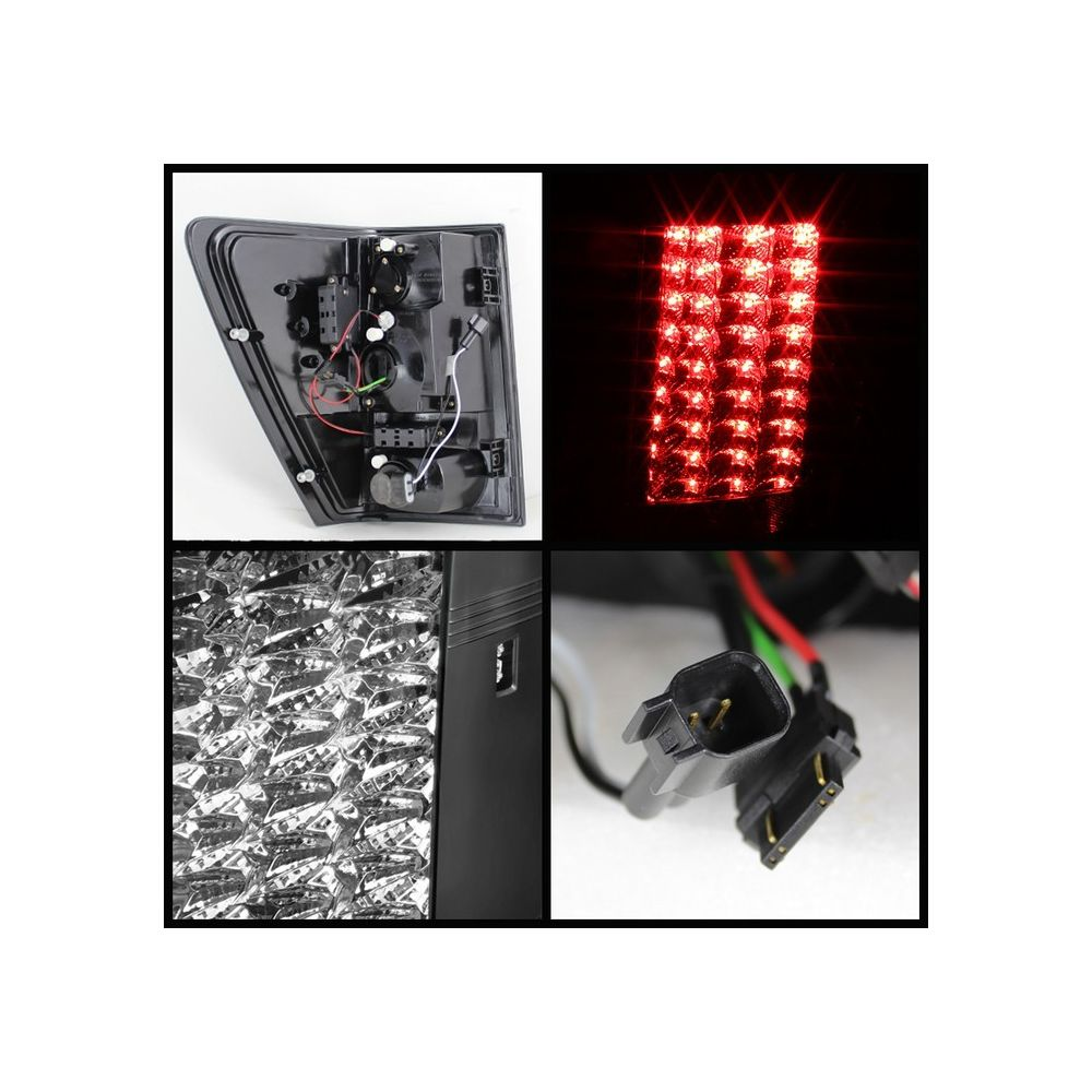 Spyder Auto ® - Black LED Tail Lights (5070197)