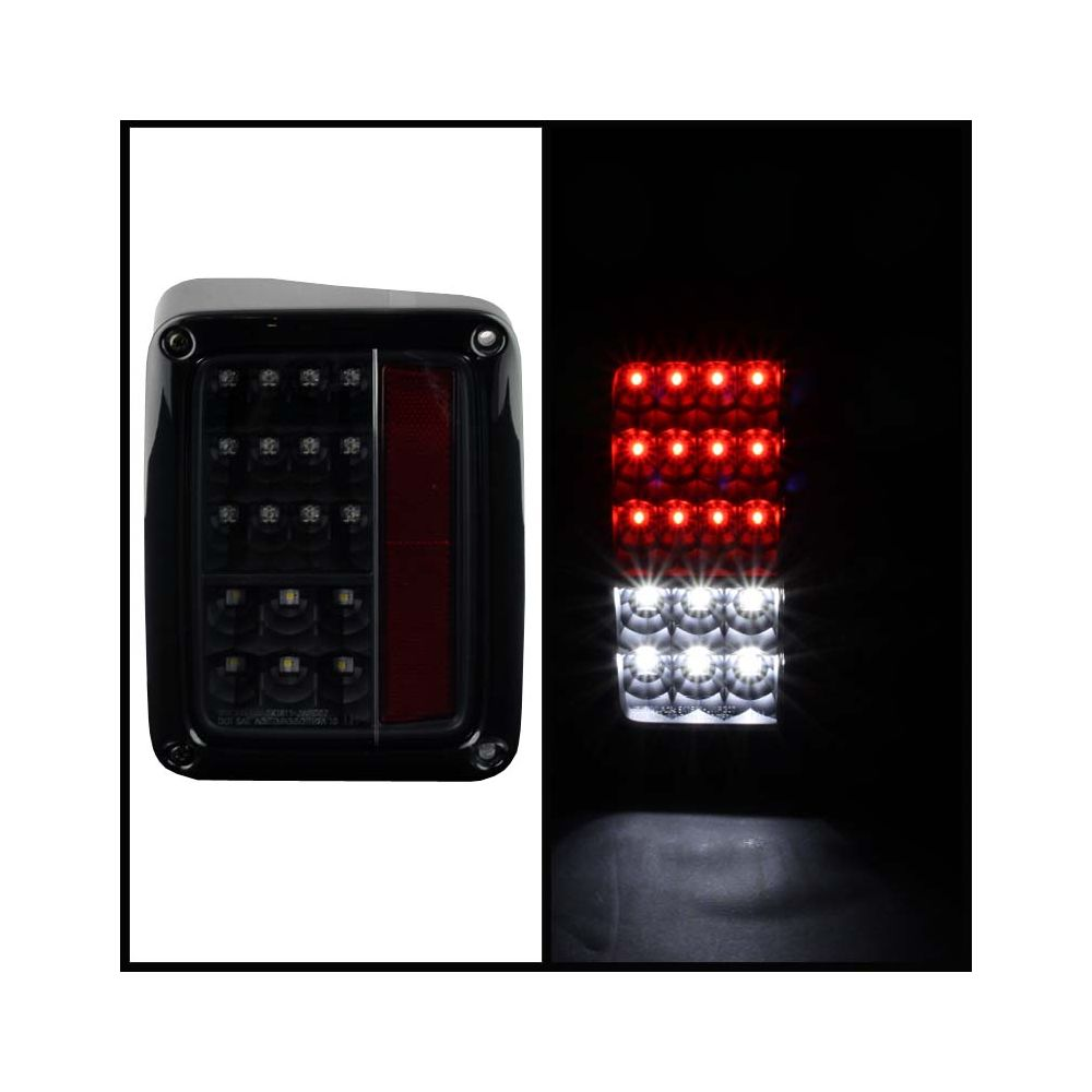 Spyder Auto ® - Black LED Tail Lights (5070395)