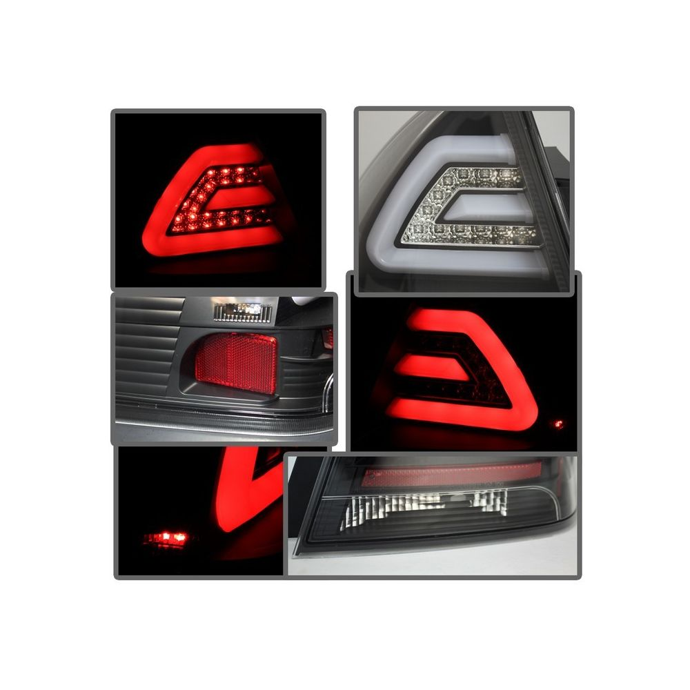 Spyder Auto ® - Black LED Tail Lights (5076380)