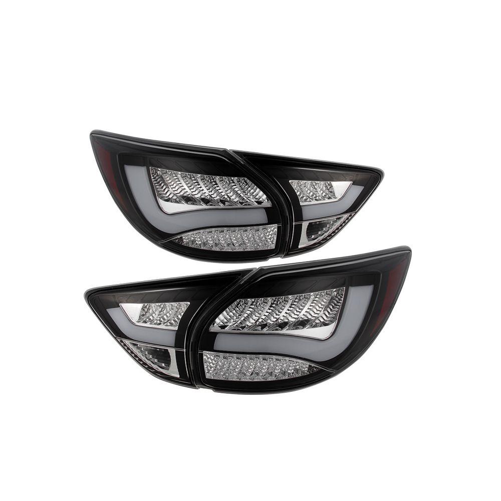 Spyder Auto ® - Black LED Tail Lights (5079633)