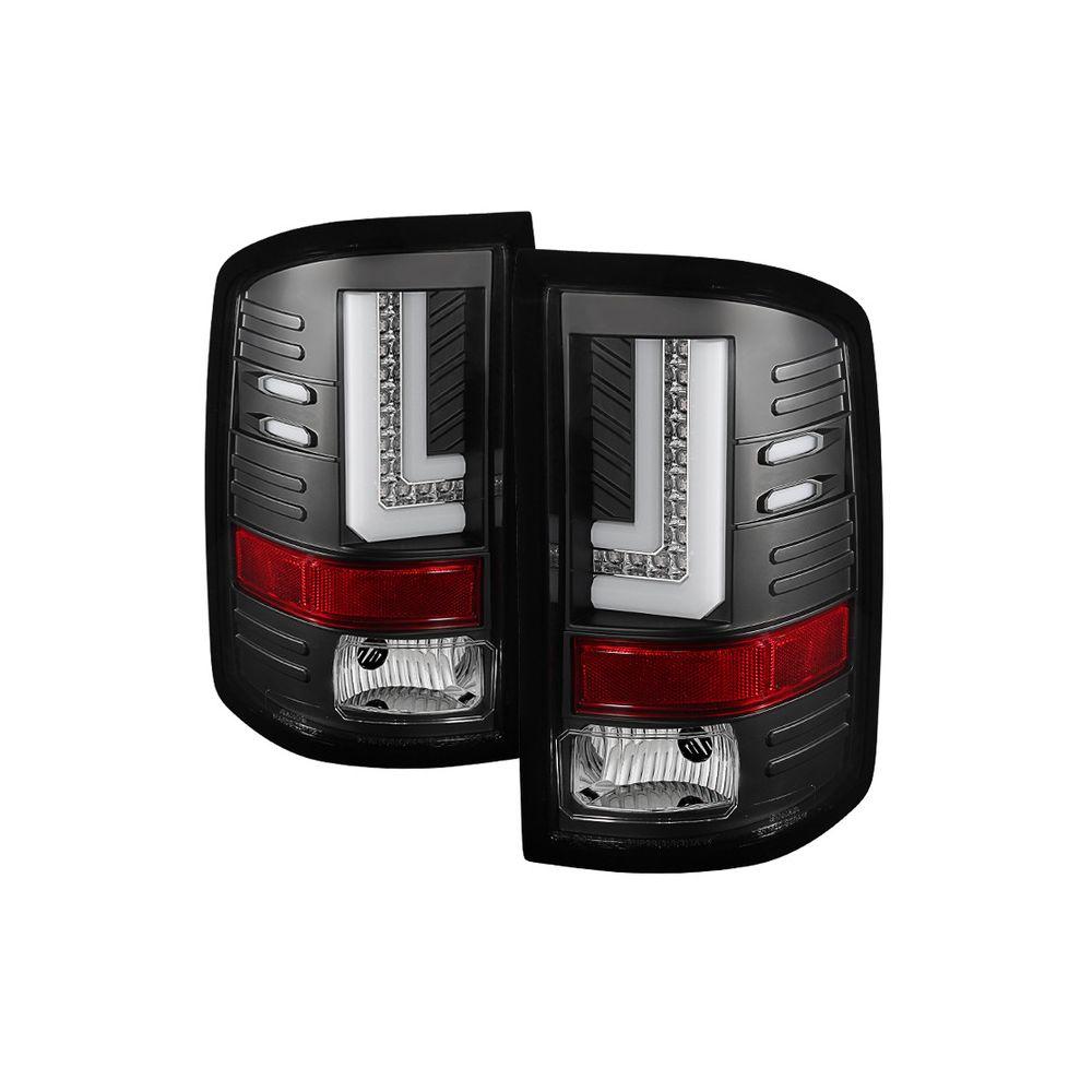 Spyder Auto ® - Black LED Tail Lights (5080660)