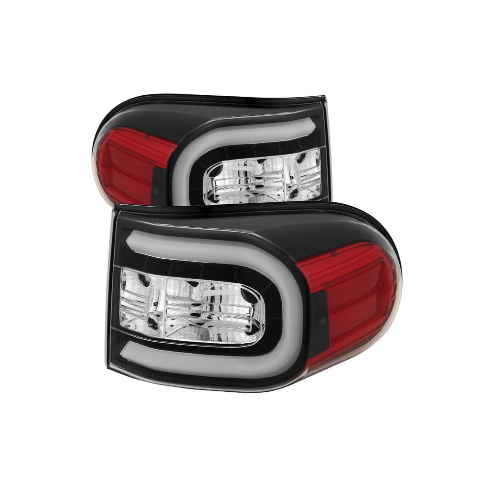 Spyder Auto ® - Black Light Bar LED Tail Lights (5079442)