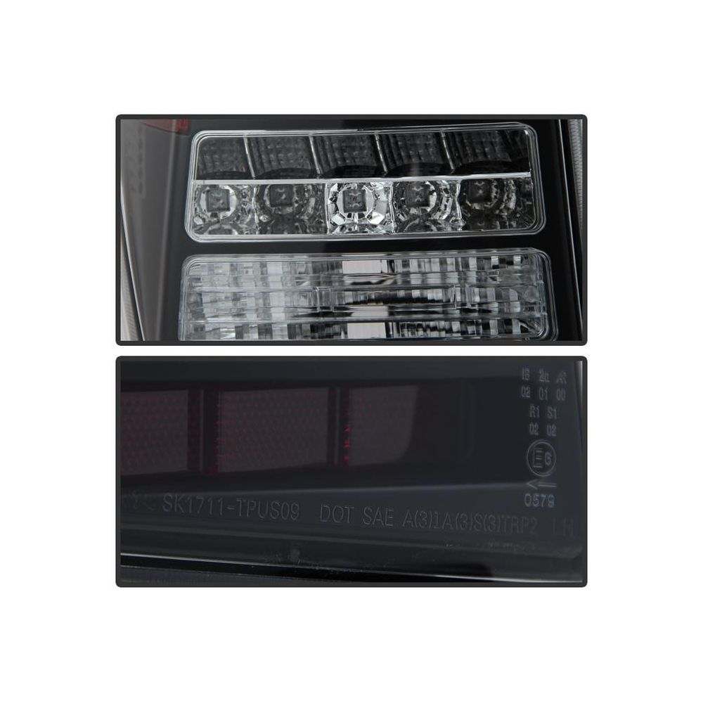 Spyder Auto ® - Black Light Bar LED Tail Lights (5079664)