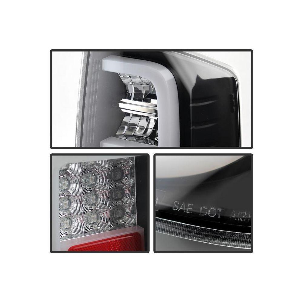 Spyder Auto ® - Black Light Bar LED Tail Lights (5080196)