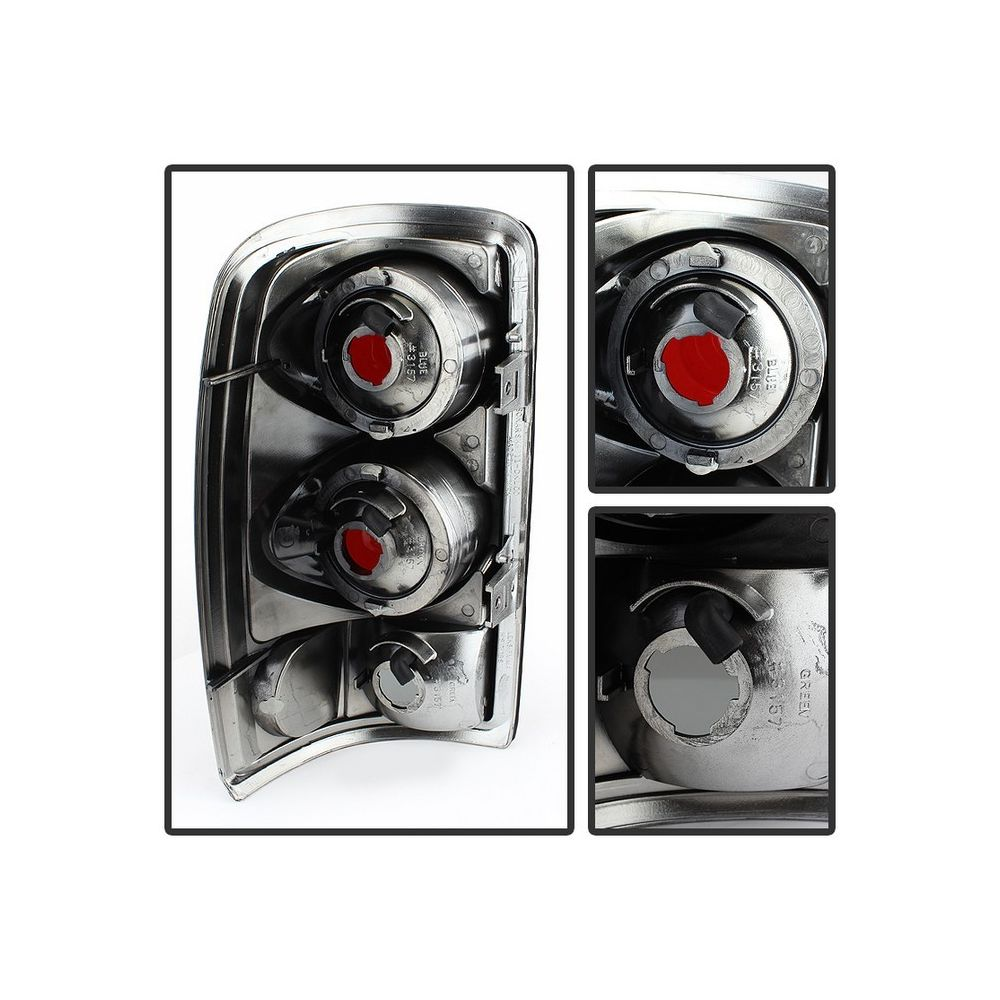 Spyder Auto ® - Black Smoke Euro Style Tail Lights (5077998)