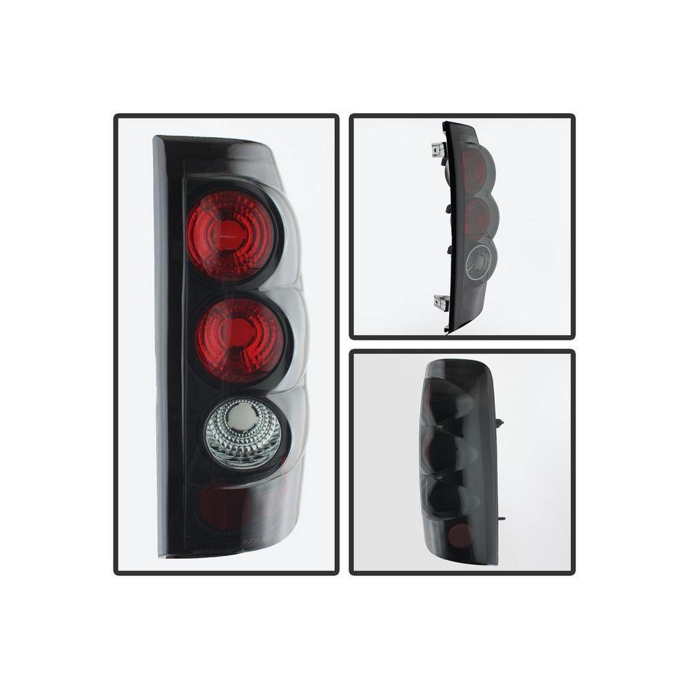 Spyder Auto ® - Black Smoke Euro Style Tail Lights (5078018)
