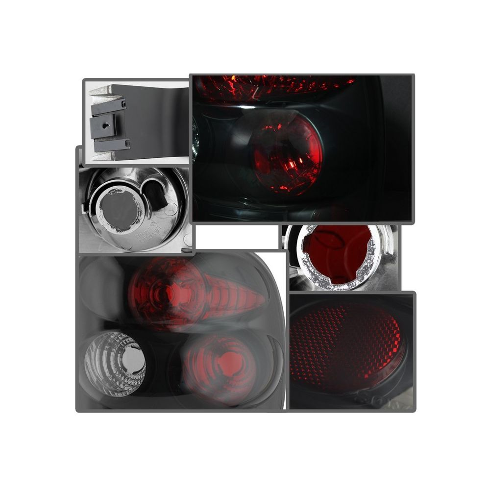 Spyder Auto ® - Black Smoke Euro Style Tail Lights (5078070)