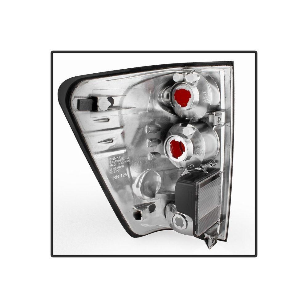 Spyder Auto ® - Black Smoke Euro Style Tail Lights (5078223)