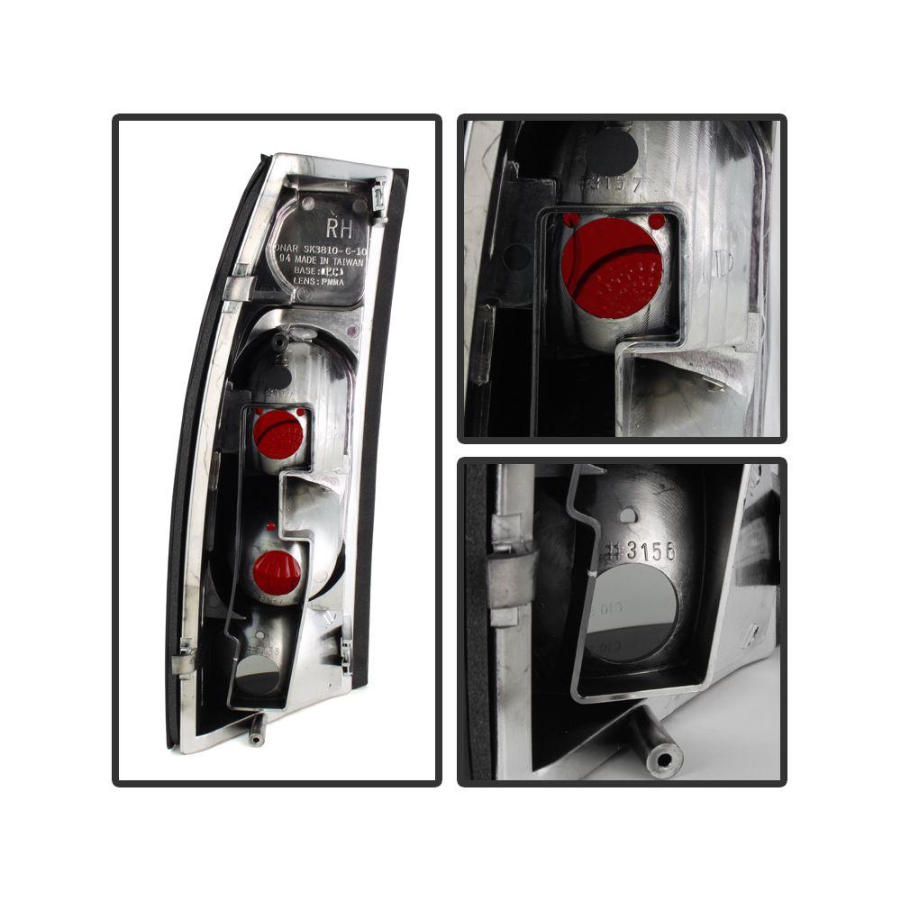 Spyder Auto ® - Black Smoke G2 Euro Style Tail Lights (5077974)