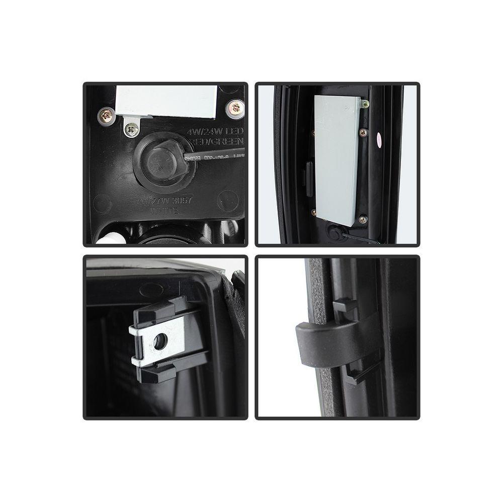 Spyder Auto ® - Black Smoke LED Tail Lights (5077981)