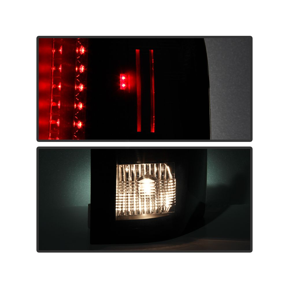 Spyder Auto ® - Black Smoke LED Tail Lights (5078032)