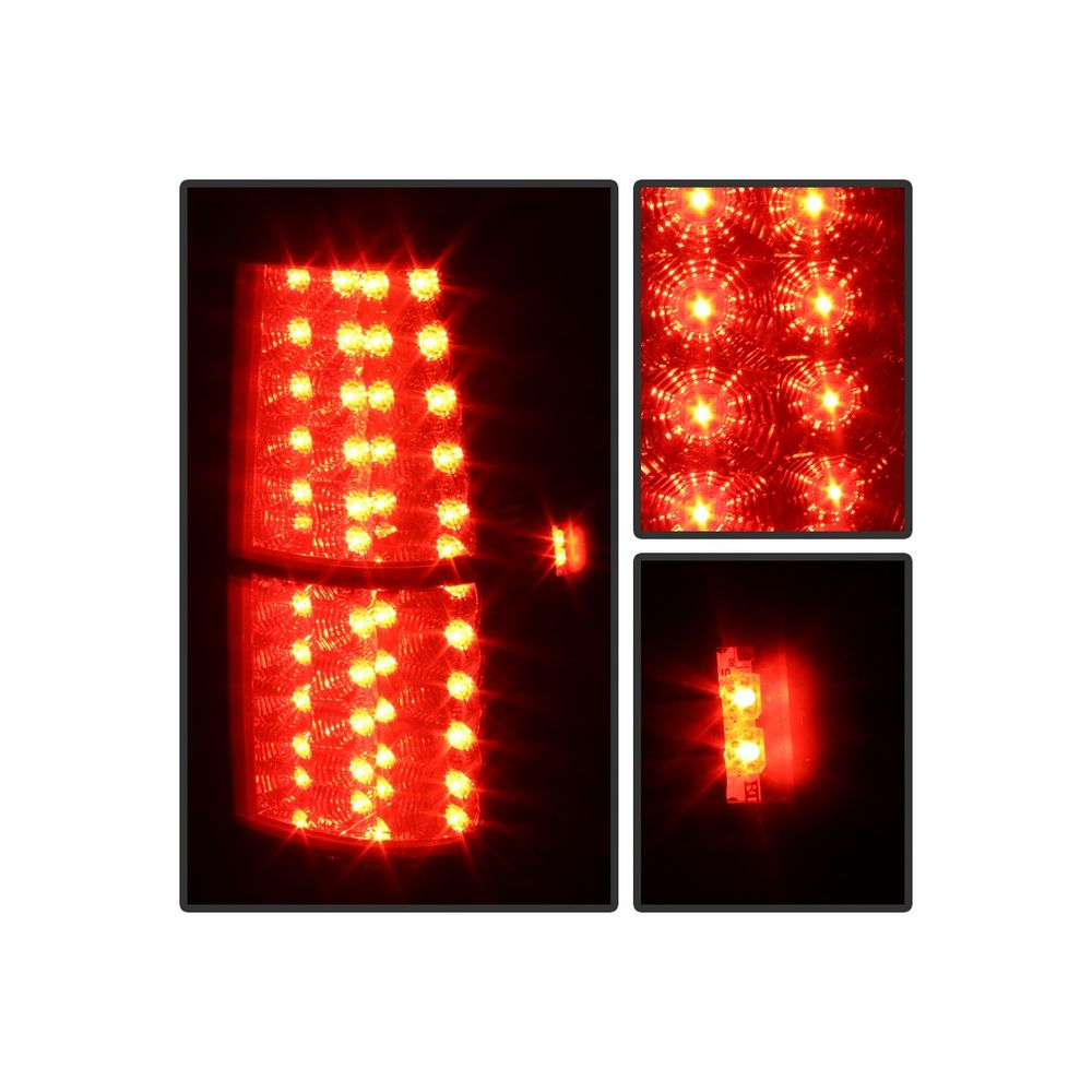 Spyder Auto ® - Black Smoke LED Tail Lights (5078087)
