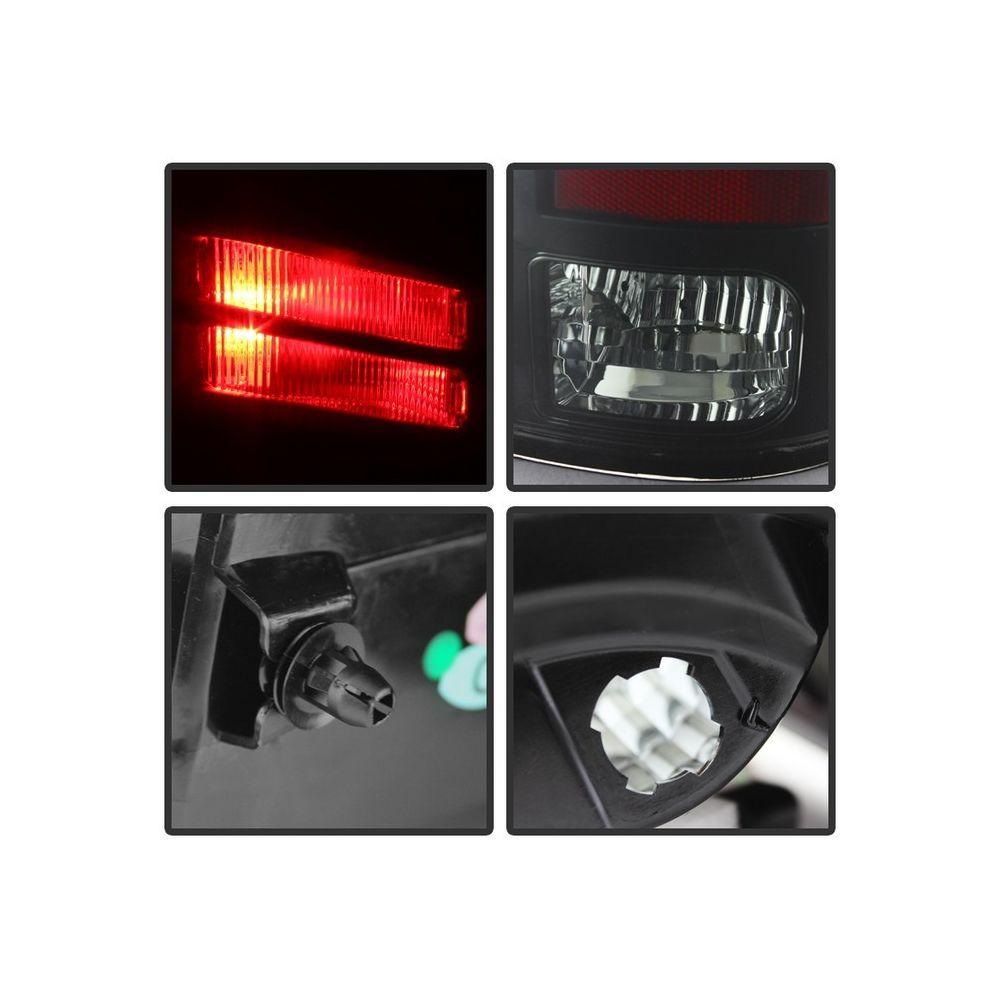 Spyder Auto ® - Black Smoke LED Tail Lights (5078124)