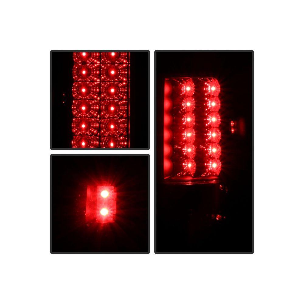 Spyder Auto ® - Black Smoke LED Tail Lights (5078131)
