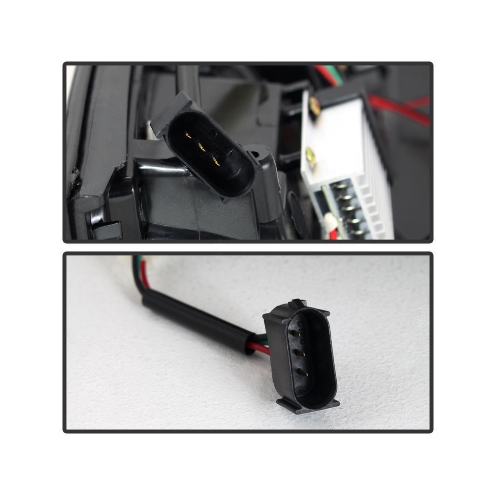 Spyder Auto ® - Black Smoke LED Tail Lights (5078148)