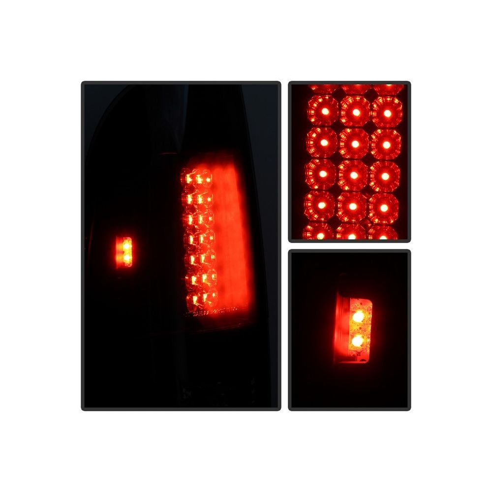 Spyder Auto ® - Black Smoke LED Tail Lights (5078179)