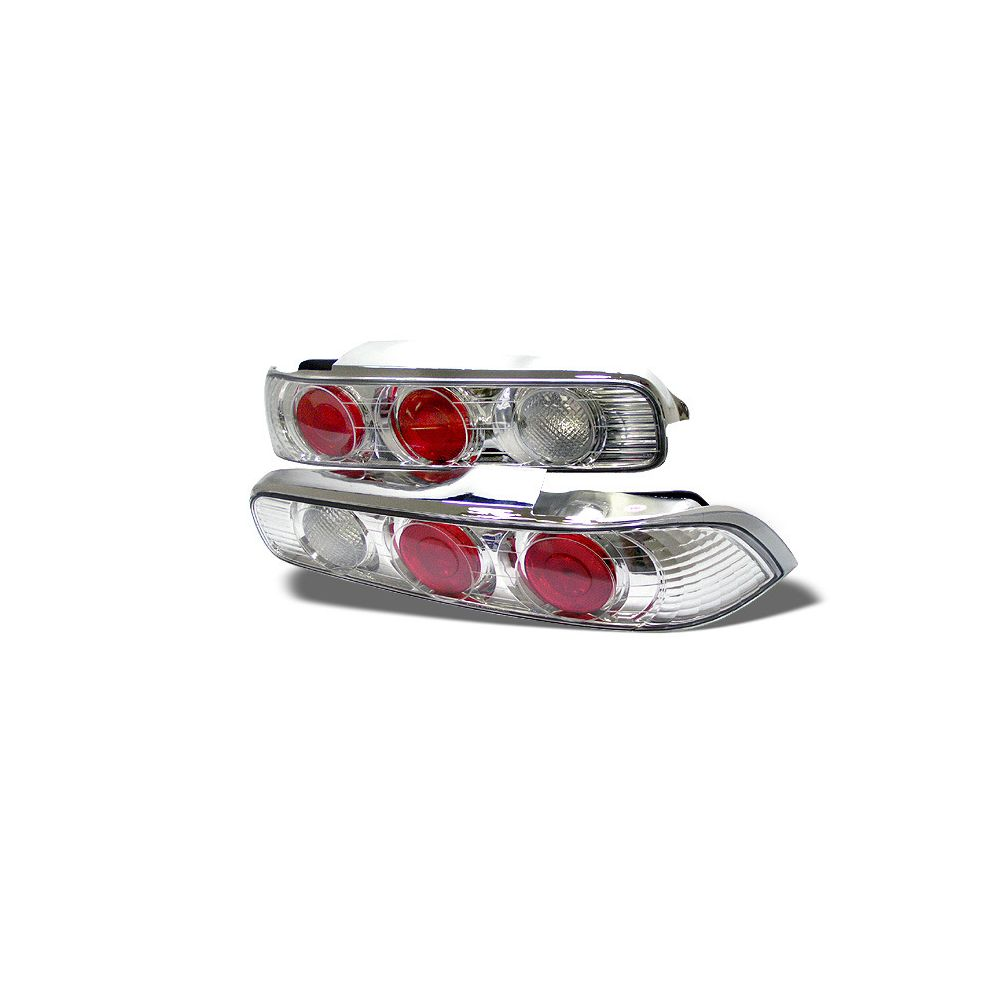 Spyder Auto ® - Chrome Euro Style Tail Lights (5000255)