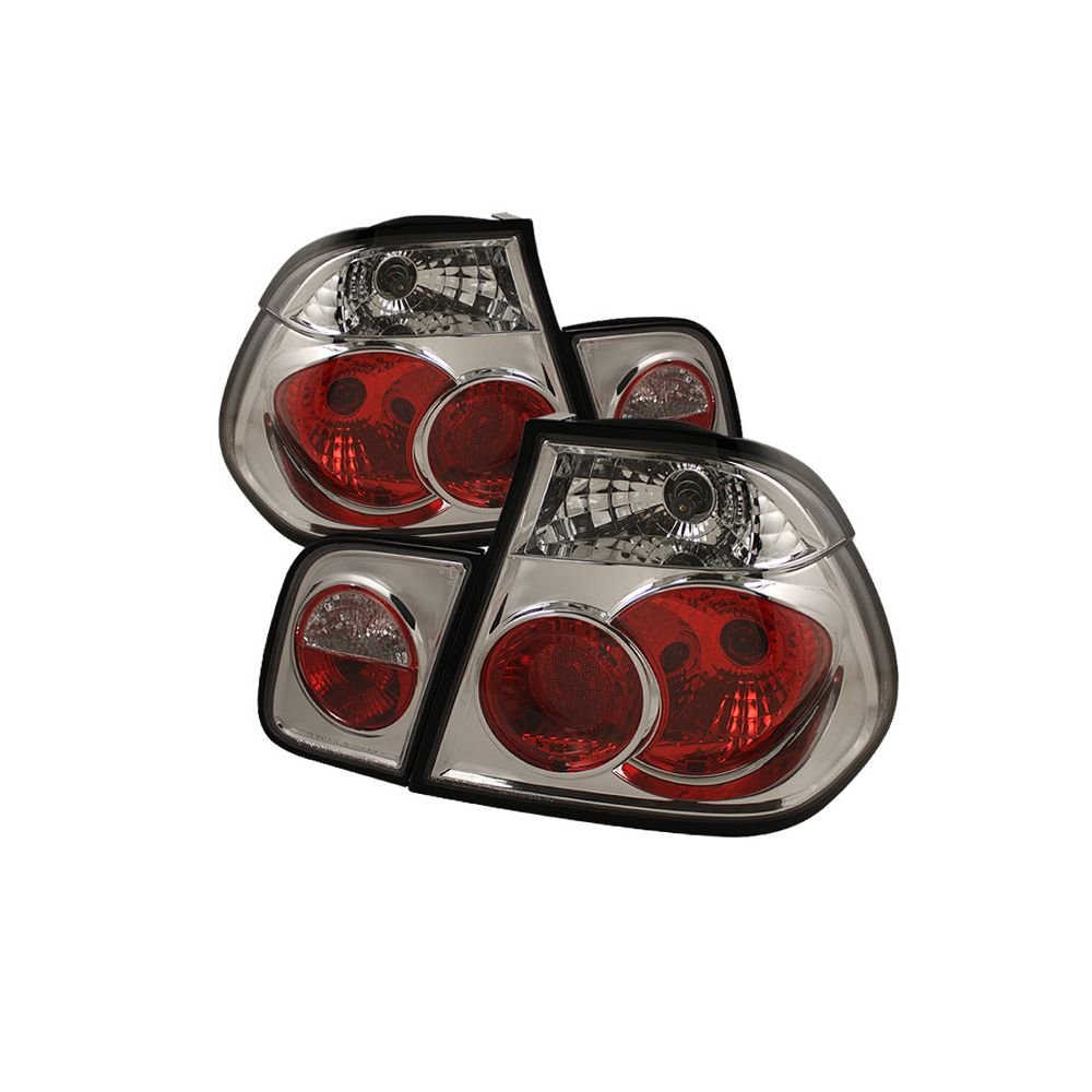 Spyder Auto ® - Chrome Euro Style Tail Lights (5000729)