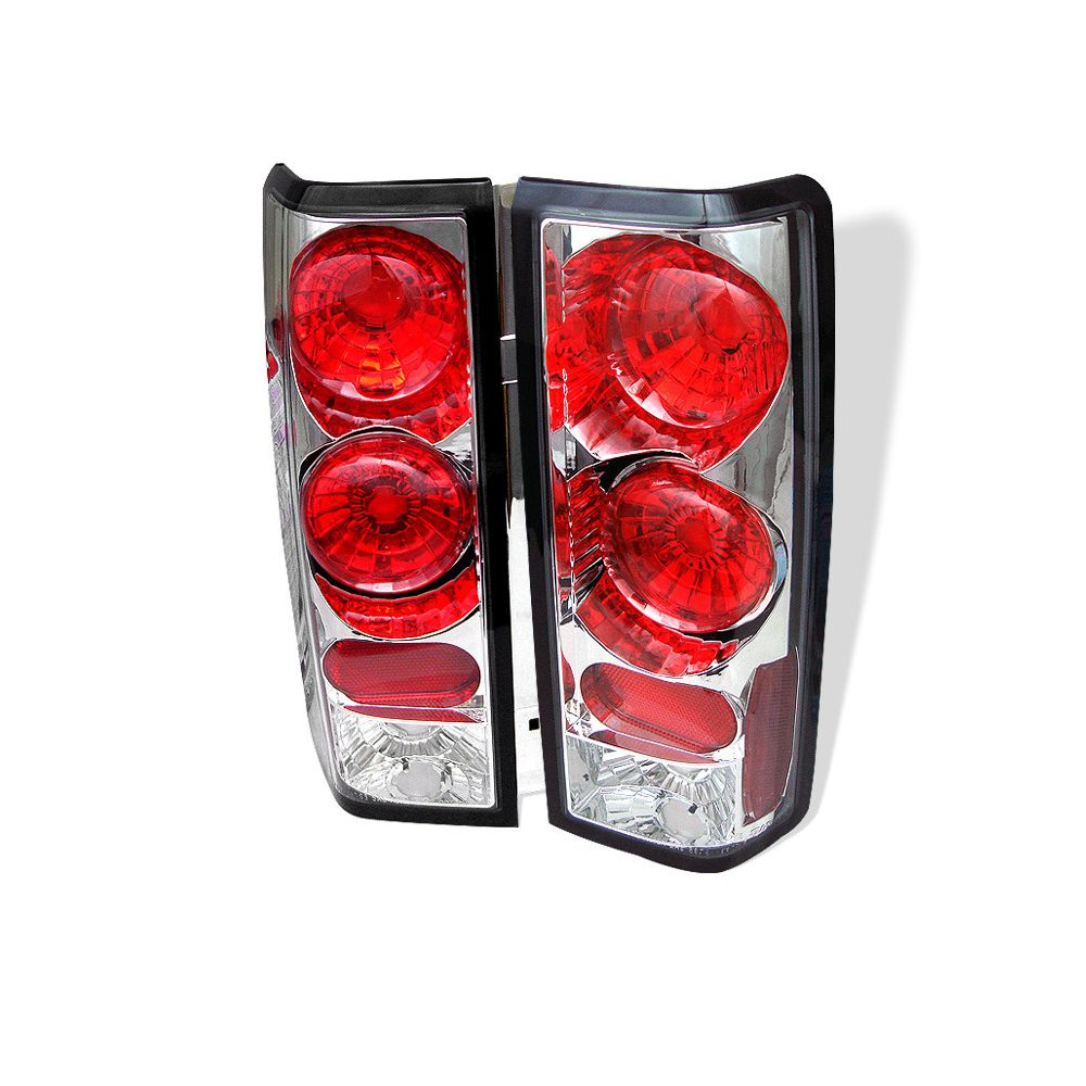 Spyder Auto ® - Chrome Euro Style Tail Lights (5001009)