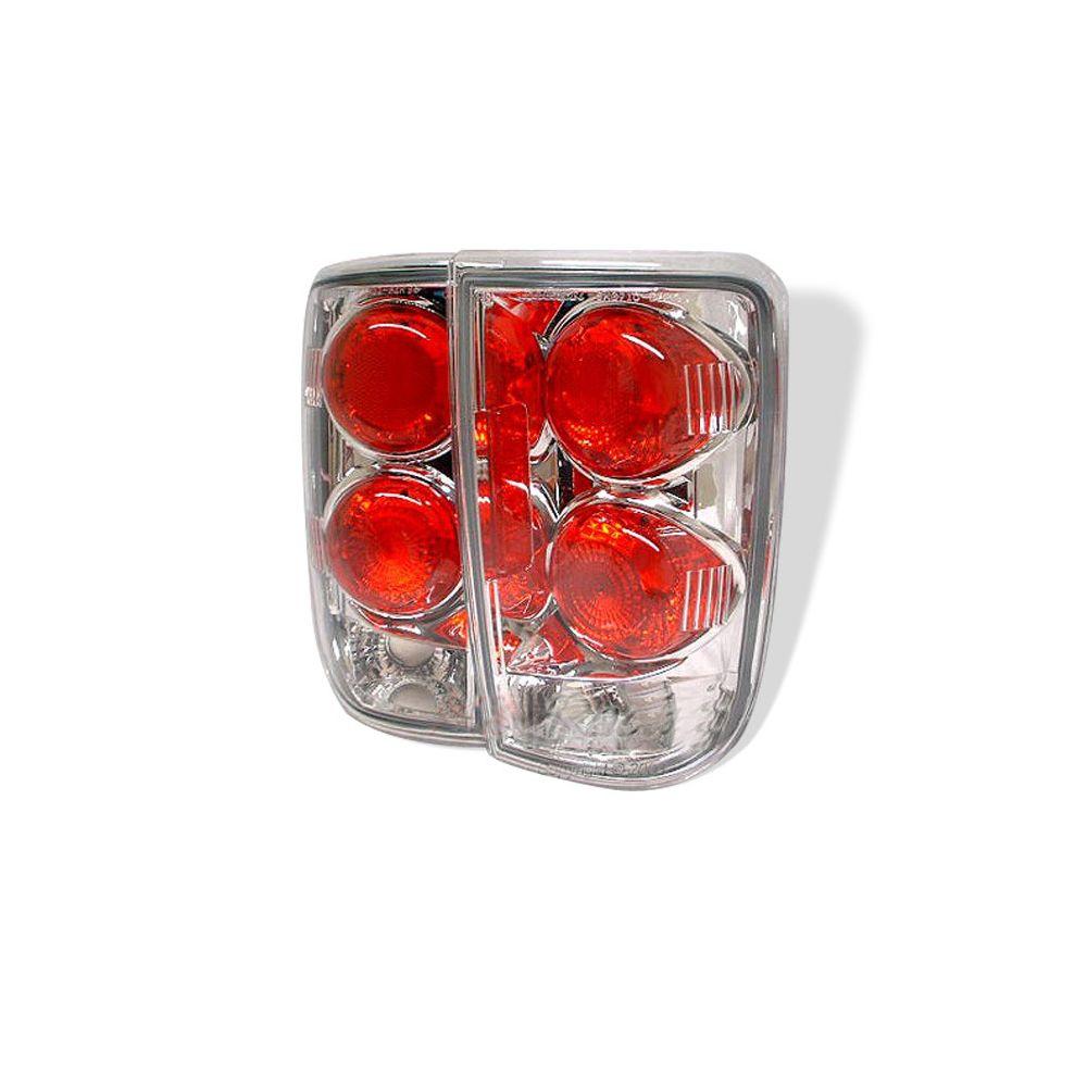 Spyder Auto ® - Chrome Euro Style Tail Lights (5001153)