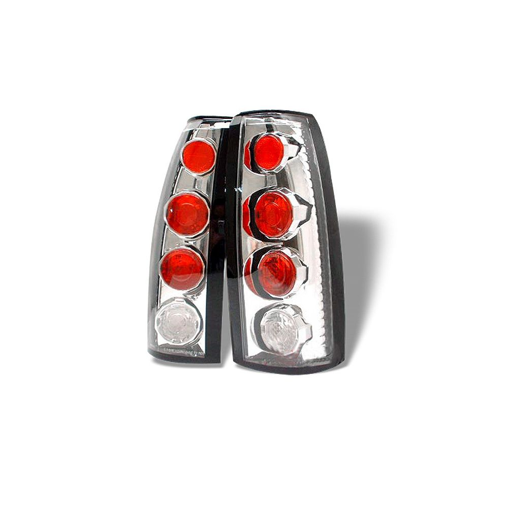 Spyder Auto ® - Chrome Euro Style Tail Lights (5001290)