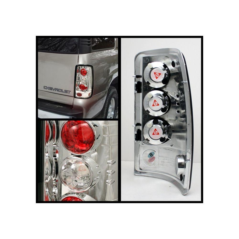 Spyder Auto ® - Chrome Euro Style Tail Lights (5001481)