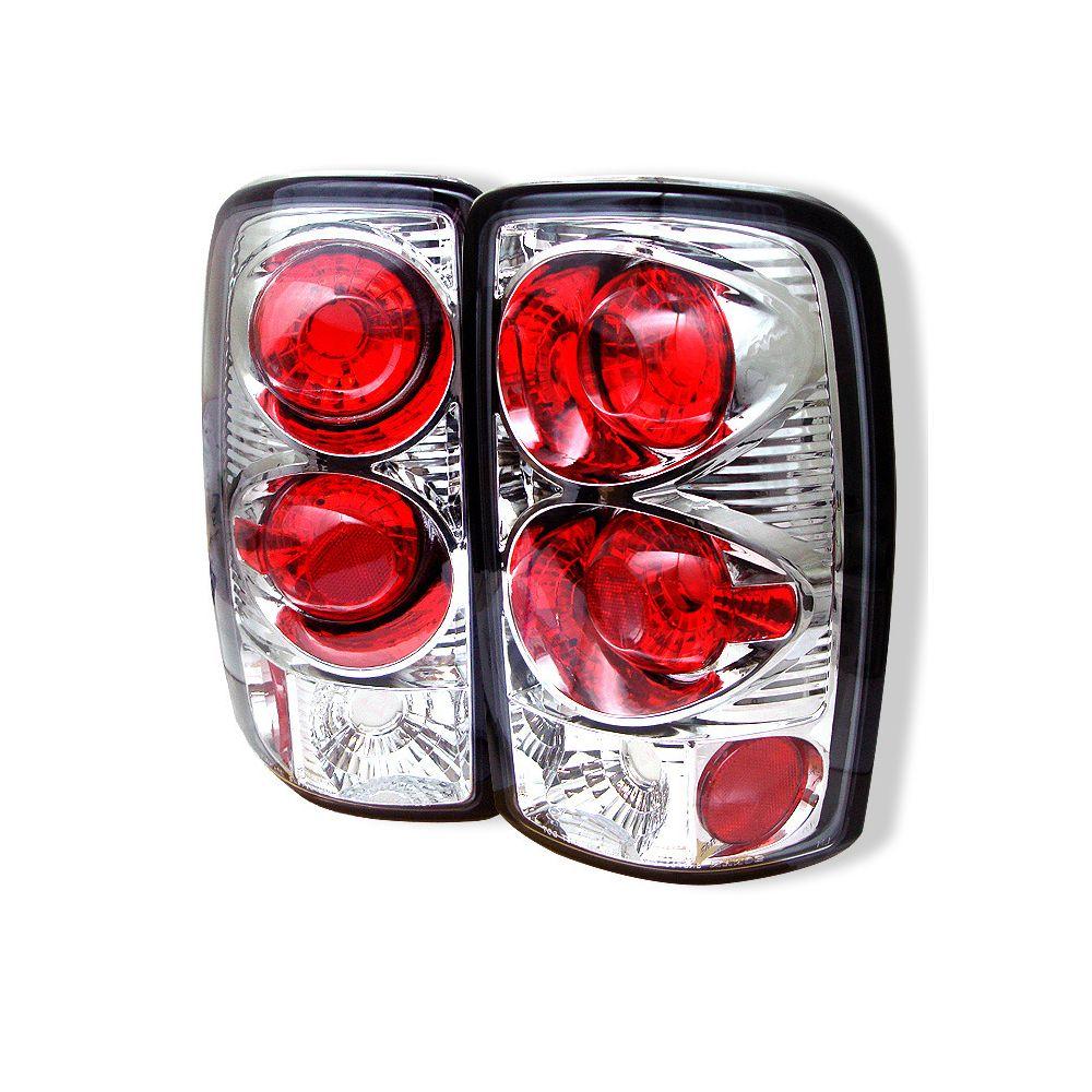 Spyder Auto ® - Chrome Euro Style Tail Lights (5001504)