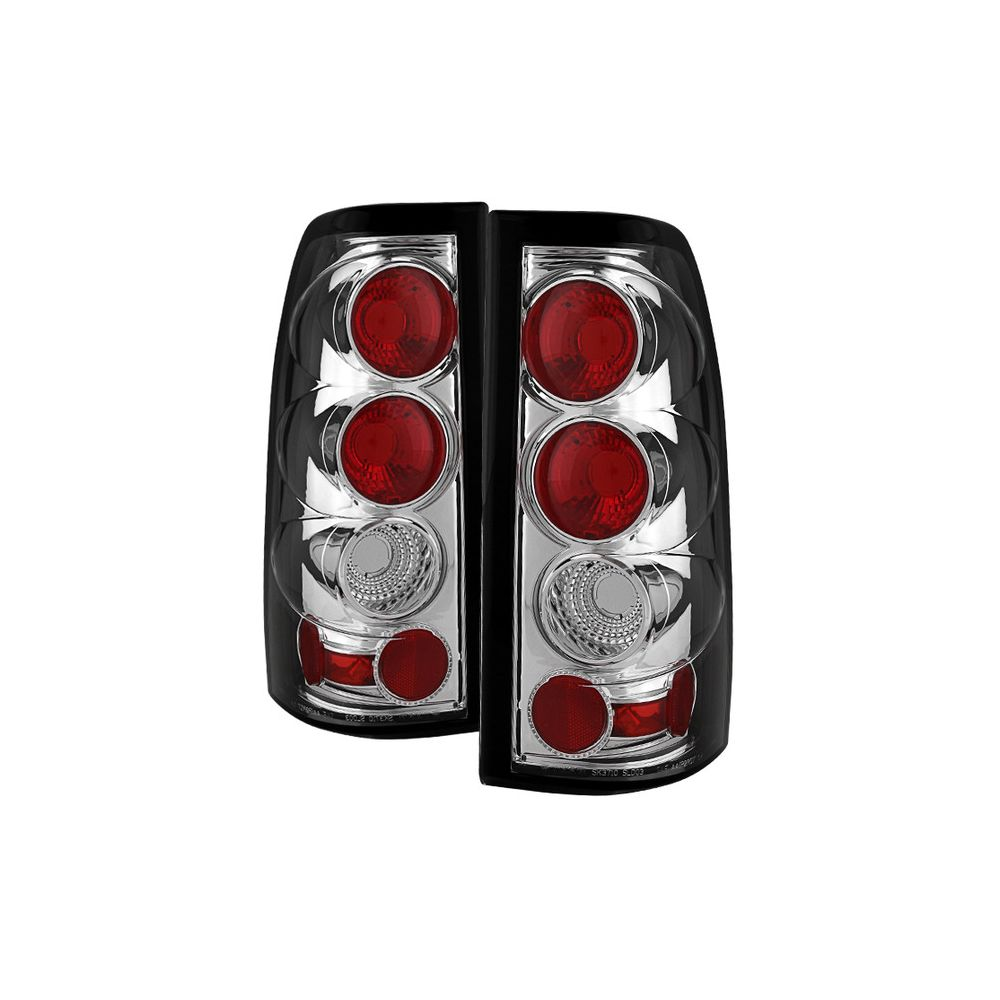 Spyder Auto ® - Chrome Euro Style Tail Lights (5001702)