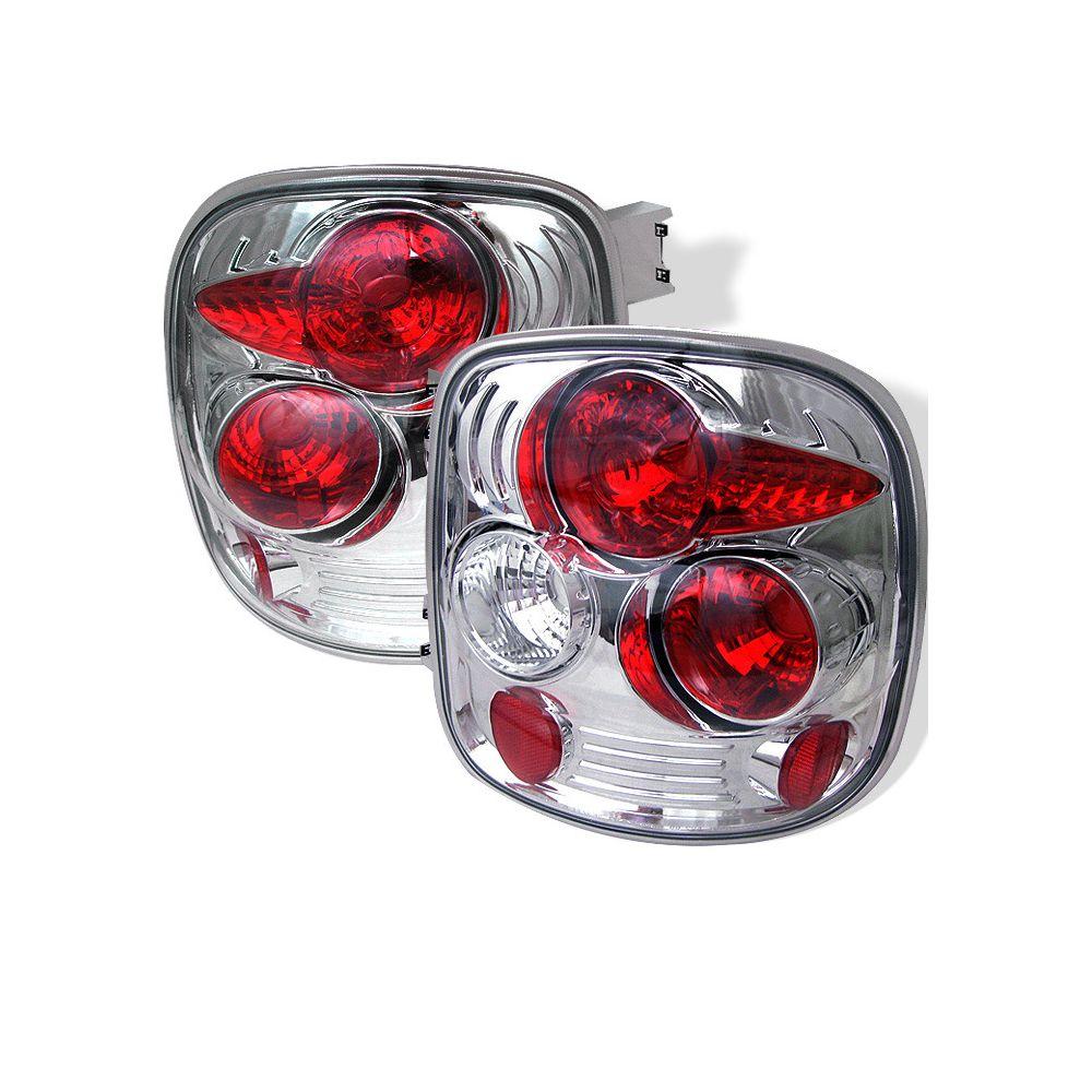Spyder Auto ® - Chrome Euro Style Tail Lights (5002112)