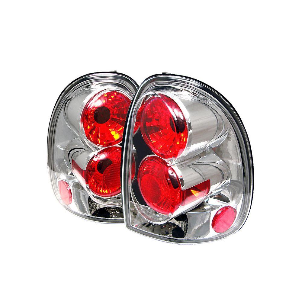 Spyder Auto ® - Chrome Euro Style Tail Lights (5002242)