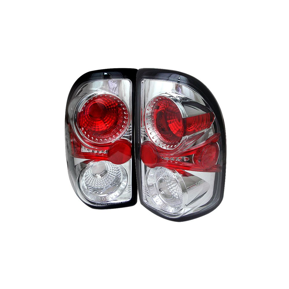 Spyder Auto ® - Chrome Euro Style Tail Lights (5002334)